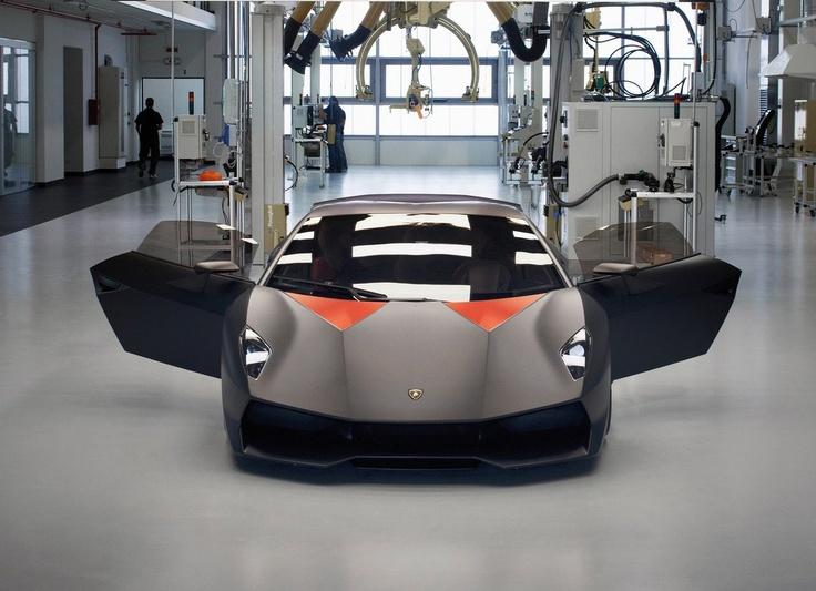 Superb Lamborghini Sesto Elemento Concept | URDesign Magazine
