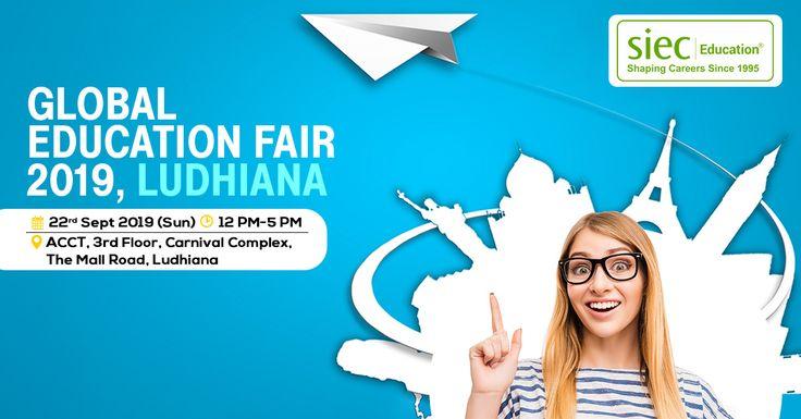 Attend tomorrow siecs global education fair 2019 in