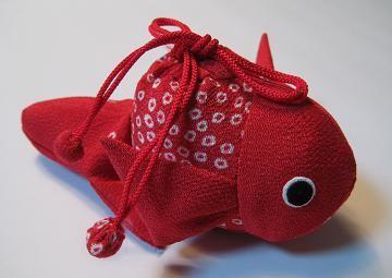 ちりめん細工-金魚 | 妙義山の麓から - 楽天ブログ