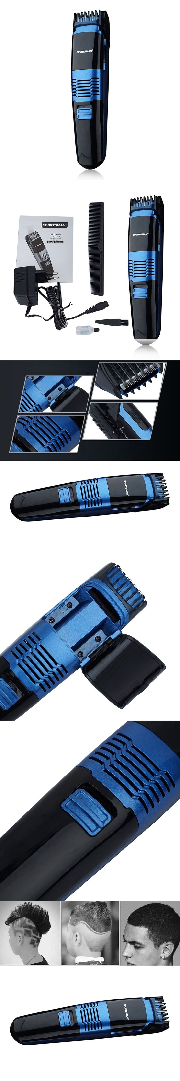 Multifunctional Electric Hair Trimmer Rechargeable Hair Clipper Haircut Beard Trimmer Razor for Adult Men LED Display Hot Sale