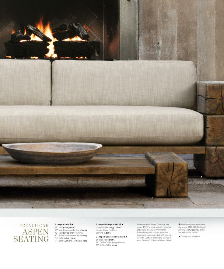 Restoration Hardware Sofa Collection: Restoration Hardware 2014 Source Book Outdoor