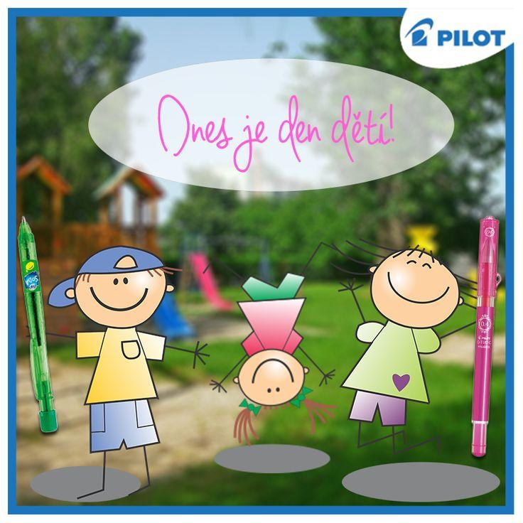 Klidně se postavte na hlavu, dnes je vše povoleno, slavíme totiž den dětí!:)