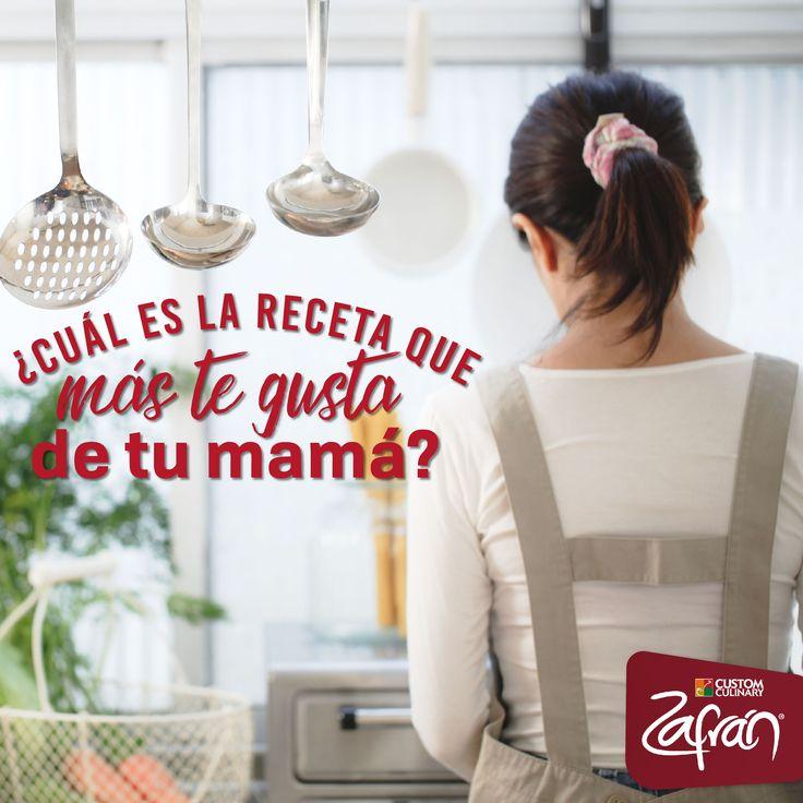 Nada como el 'hotel mamá', cuéntanos cuál es tu plato favorito preparado por ella. #productoszafran #universozafran #felizdiamama