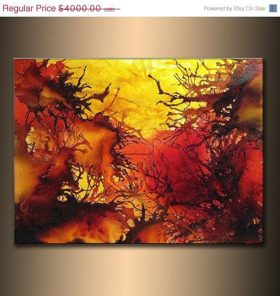 Big Canvas Art Modern Watercolor Abstract Ink Splash Big: 1000+ Images About Abstract Paintings On Pinterest