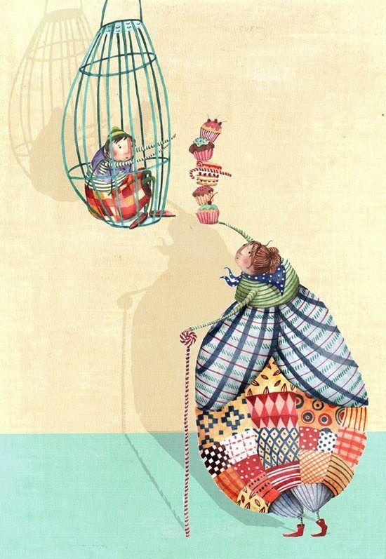 Hansel y Gretel.Holly Clifton-Brown.