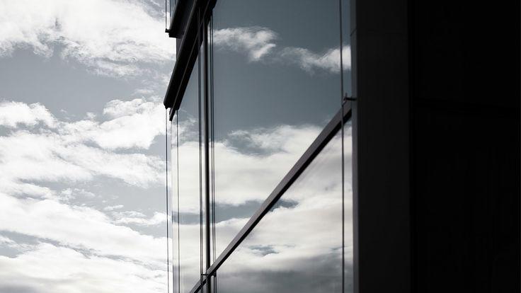 Schiebeflügelfassade von air-lux und Krapf AG