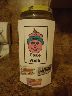 Cake Walk Game For Children's Church