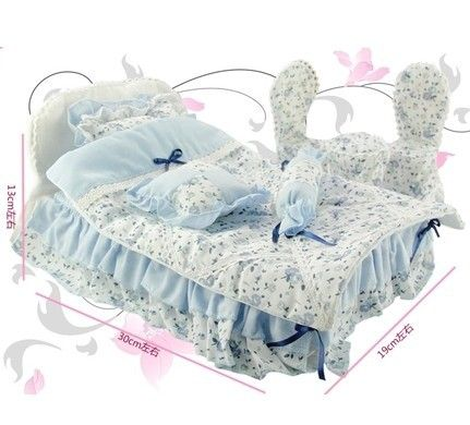 The original Chair/table/bed bedding set  for Chloe doll, 8611, 8612, 8614 dream bed set ,Free shipping US $23.50