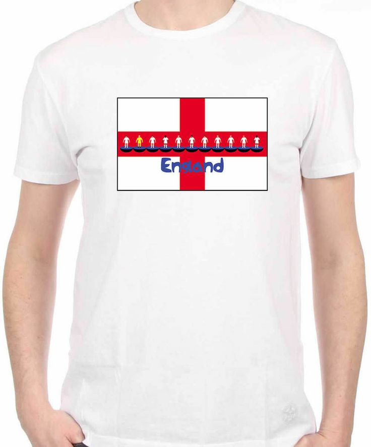 England World Cup Flag T-Shirt (Large)