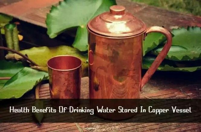 Benefits Of Drinking Water Stored in Copper Vessel!   #health #lifestyle #healthyliving