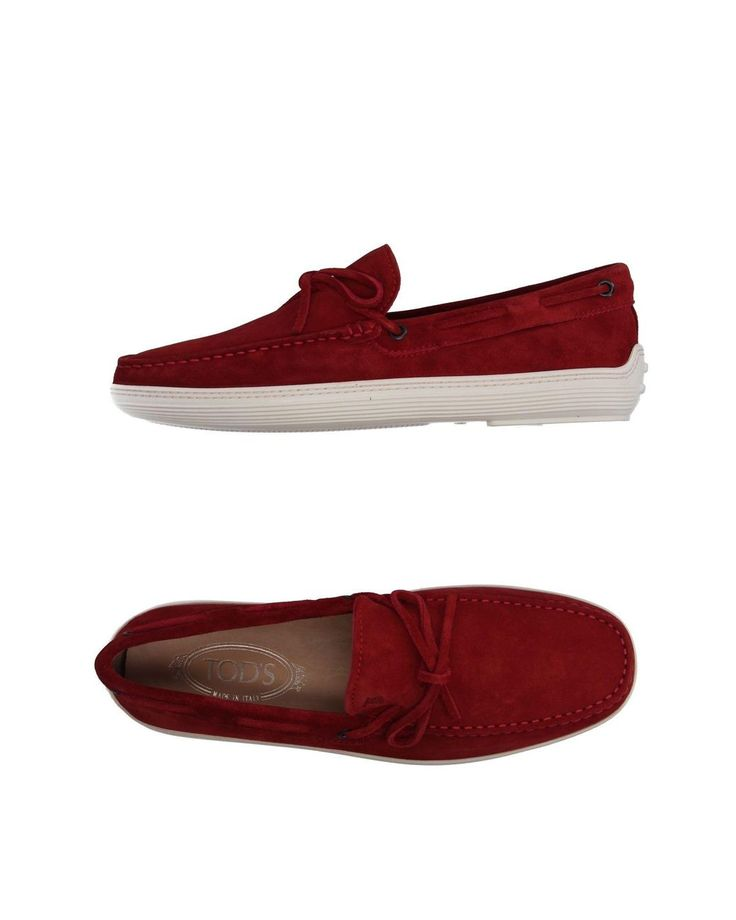 Tod's | Red Loafer for Men | Lyst