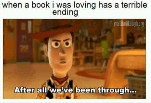 When a book has a terrible ending