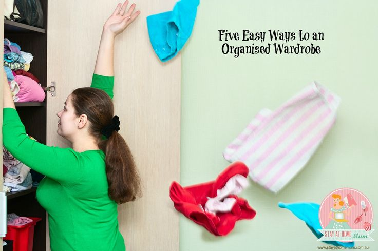 Five Easy Ways to an Organised Wardrobe | Stay at Home Mum