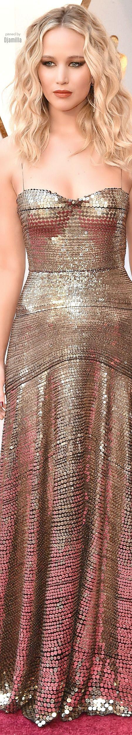 Jennifer Lawrence - The Oscars 2018 ~ in Dior Pre-Fall