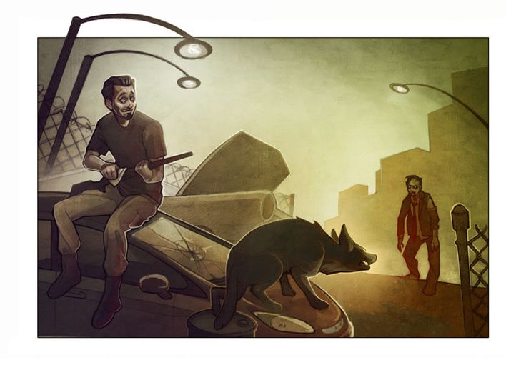 Do you think your dogs can help you survive zombies?