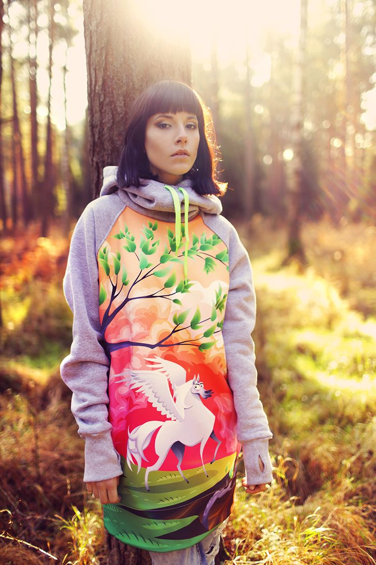 #dolani #antonina #photoshoot #forest #horse #końpolarny #magic #deeptrip #sweatshirt #hoodies