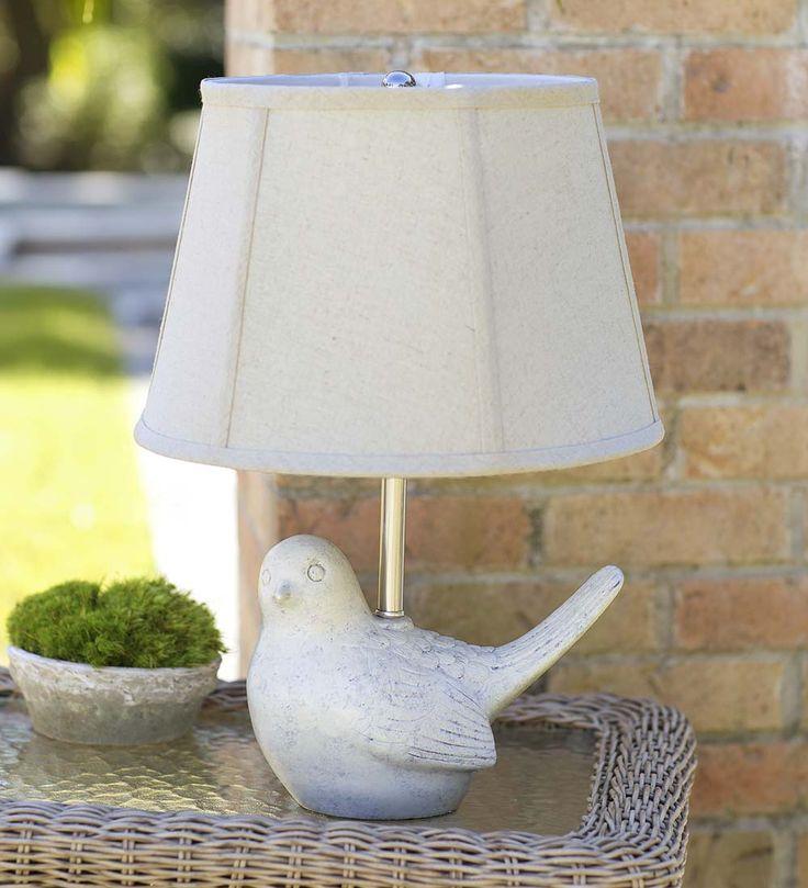 Resin Bird Outdoor Lamp | Outdoor Lighting
