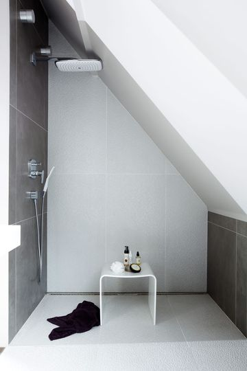 Elegant Dusche Im Dachgeschoss Awesome Design