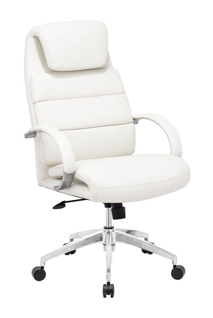 Schön Weiße Ergonomischer Bürostuhl