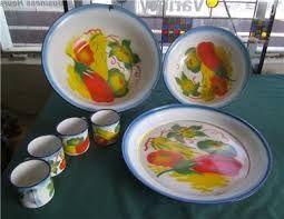 Image result for thai enamelware
