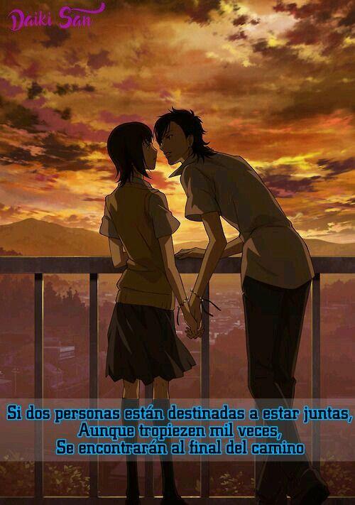 Daiki San Frases Anime Si dos personas estan destinadas a estar juntas