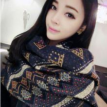 Bufanda de la marca mujeres tamaño 180 * 65 cm otoño e invierno nueva europa estilo engrosada mujeres de cachemira bufanda y pashmina PJ16