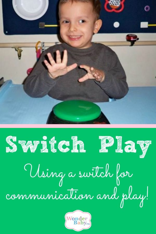 For children who are non-verbal or have low motor coordination, switches can be a great way to augment their play.