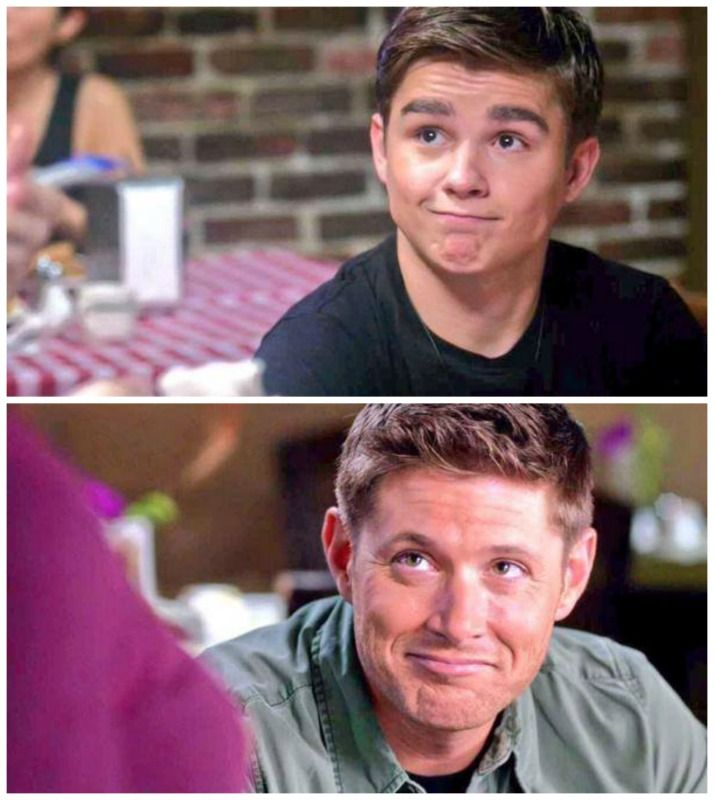 Oh Dean, always exceptionally adorable. << I mean how the hell did dylan manage to utterly capture dean so well - i mean LOOK AT HIM