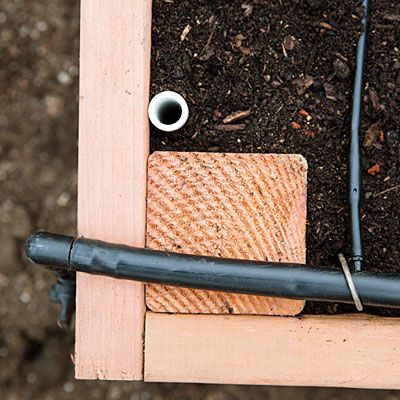 Step-by-step: Build the ultimate raised bed (includes directions for cover supports and irrigation)