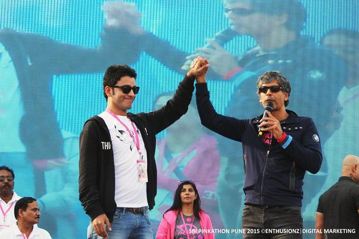 "Cheers to the 3 years of our association with Pinkathon !! ""The First Partner and the Oldest Partner"" as described by Milind Soman !! wonderful to be associated with Pinkathon!! #PinkathonPune #Digital #Media #Marketing www.enthusionz.com"