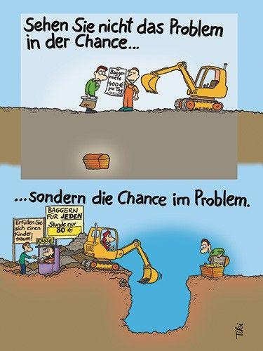 Im Problem die Chance entdecken