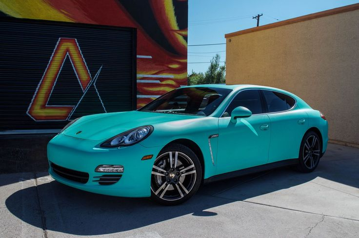 Porsche Panamera 4s Matte Emerald Green From Avery