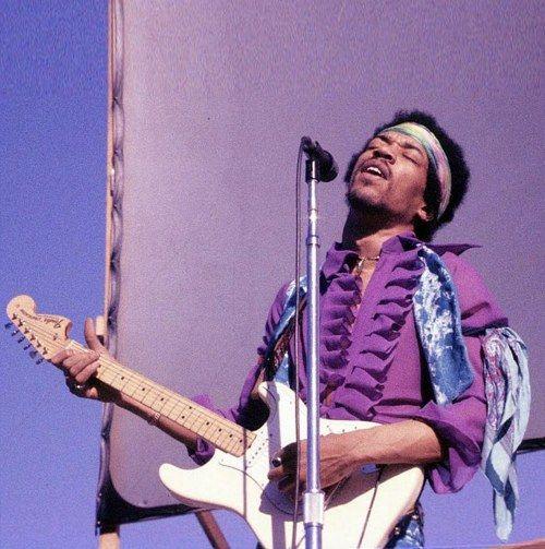 Jimi...purple haze no doubt..