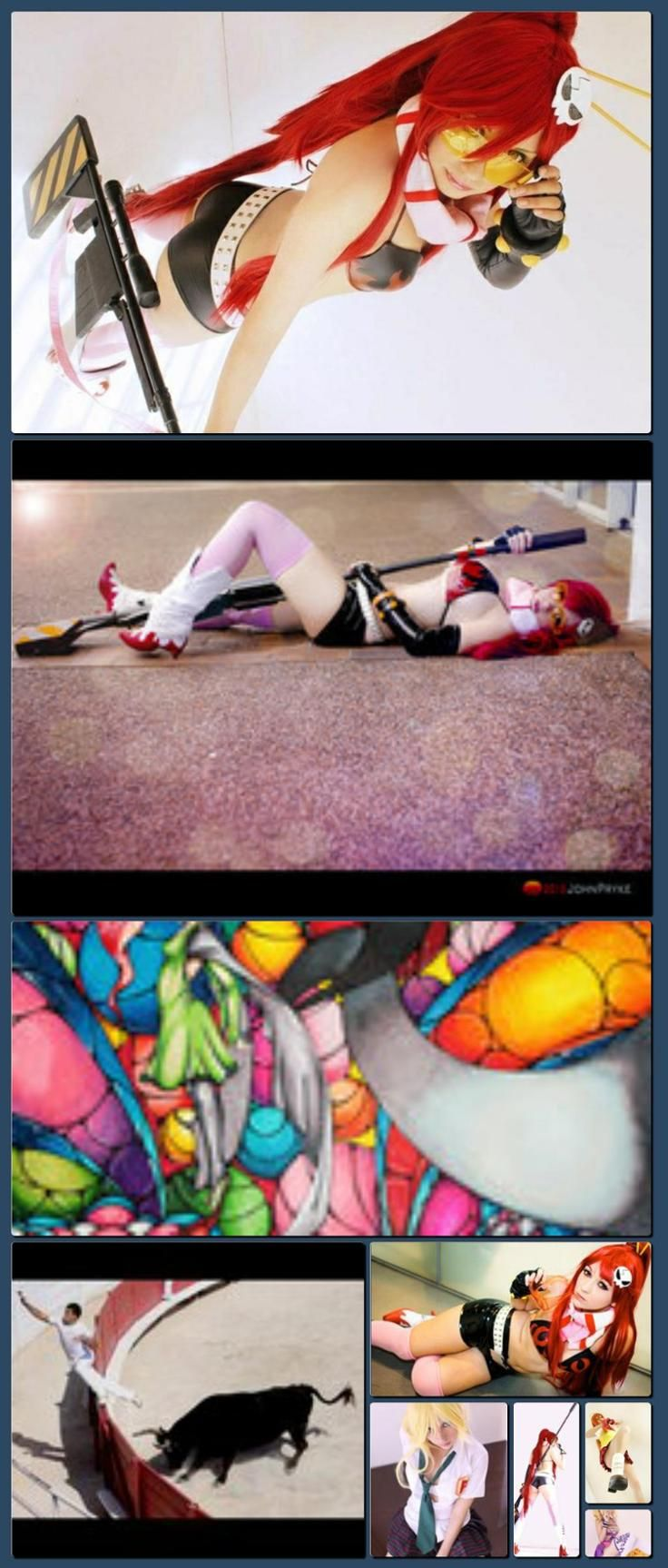 Yoko Cosplay by ~Zettai-Cosplay on deviantART [Collage made with one click using http://pagecollage.com] #pagecollage