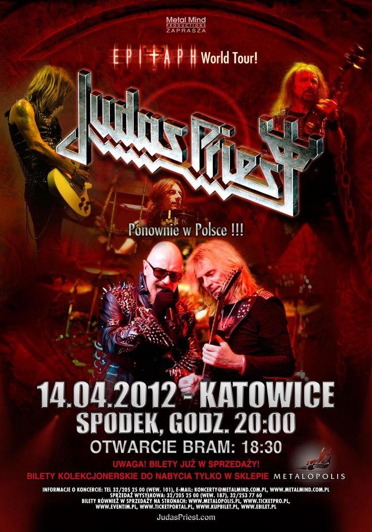 Judas Priest   Judas Priest: Epitaph World Tour w Spodek (Katowice) z dnia