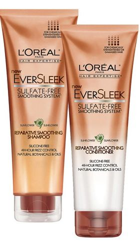 My favorite shampoo & conditioner; Sulfate, paraben & silicone free ~ L'Oreal EverSleek