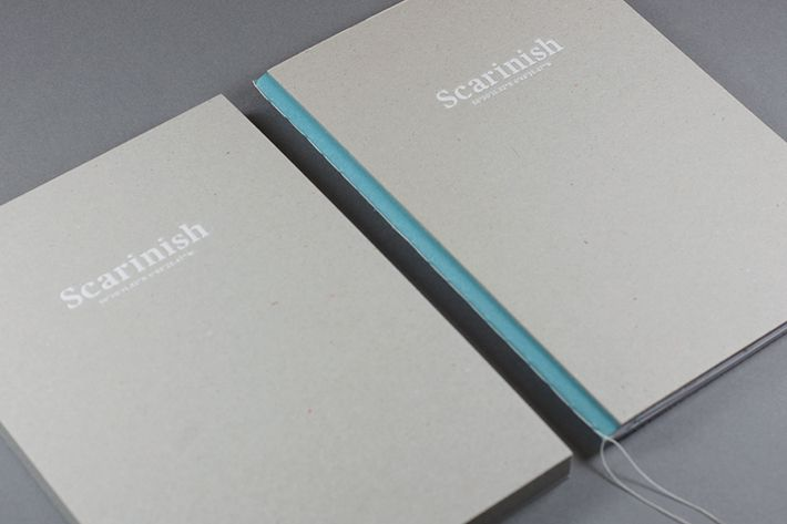 Visual Identity for Glasgow design consultancy Scaranish designed by KVGD.