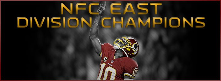 HAIL TO THE NFC EAST CHAMPS!!!