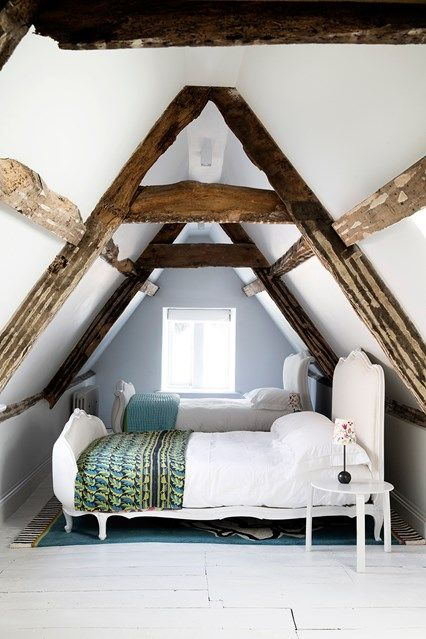 17 best images about bedroom eyes on pinterest guest for Small attic room ideas