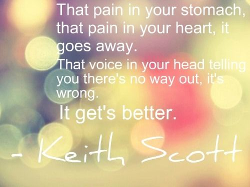 -Keith Scott. I will cry everytime I read this.