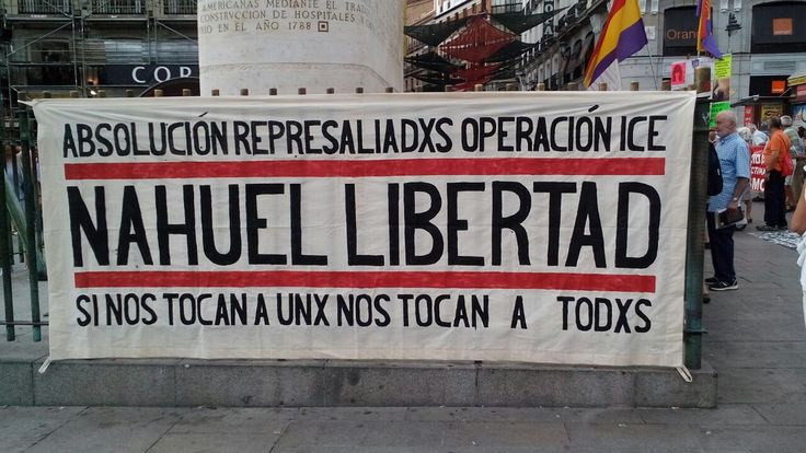 FIES-Nahuel ¡Qué la lucha no muera! régimen FIES, Cárcel de Extremera, Straight Edge Madrid, operación ICE, aislamiento penitenciario