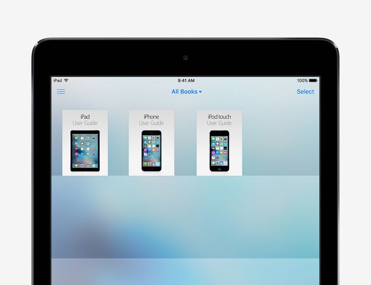 Get the User Guide - iOS 9 Tips and Tricks for iPad - Apple Support