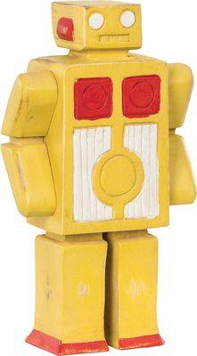 Figurka mała Robot - Obrazy i rzeźby - Artykuły Dekoracyjne - Meble VOX