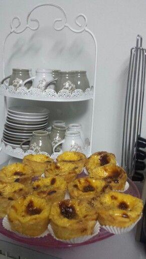 Doce tradicional português- Pastel de Nata.