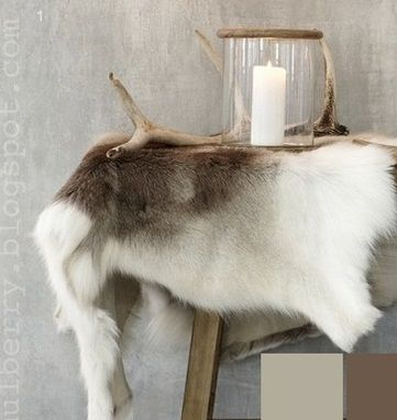 Next time in Sweden, I must remember to bring home a reindeer hide. Oh what am I thinking, I already have one.