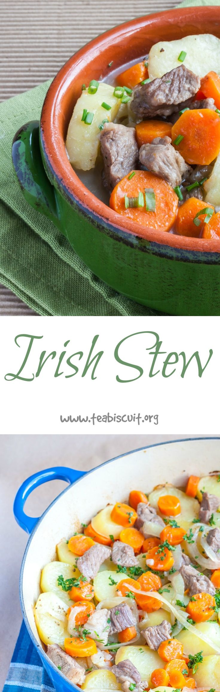 You don't need to wait until St Patrick's Day to enjoy this traditional Irish Stew recipe! | www.teabiscuit.org