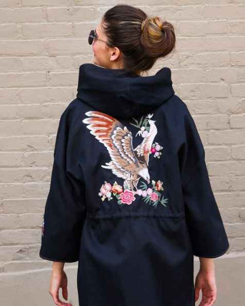 Milli Muse. RED Valentino jacket, available at Milli. #REDValentino #milli