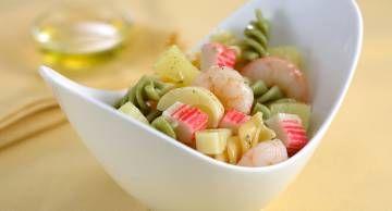 14 Recetas ensalada de pasta con palitos de cangrejo - Gallina Blanca - Gallina Blanca