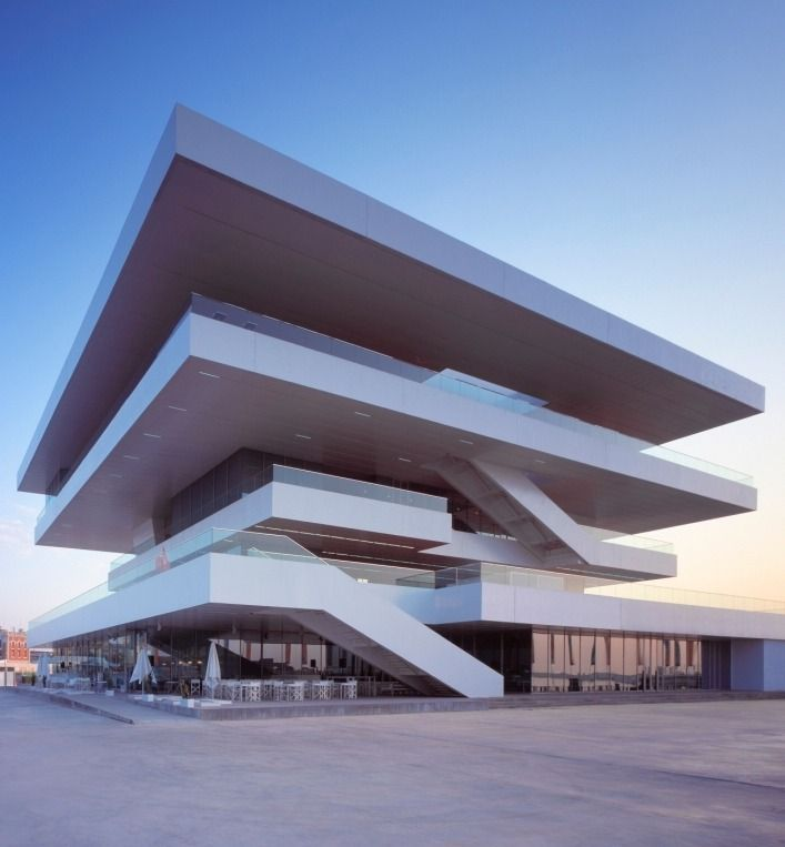 Edificio Veles e Vents (America's Cup Building), Valencia, Spain. By David Chipperfield.