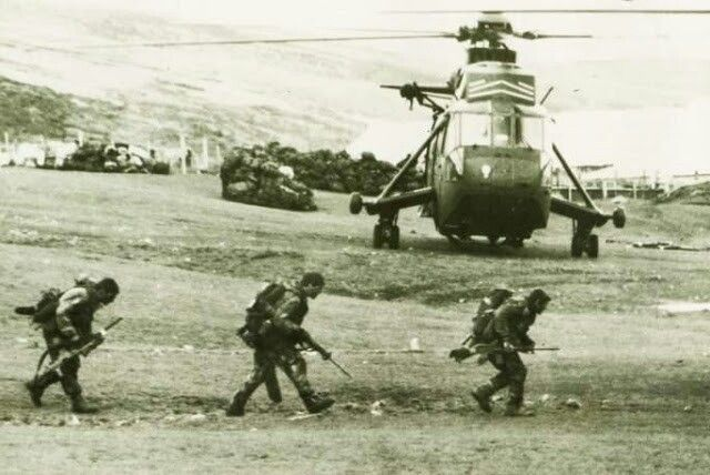 SAS in the Falklands 1982.